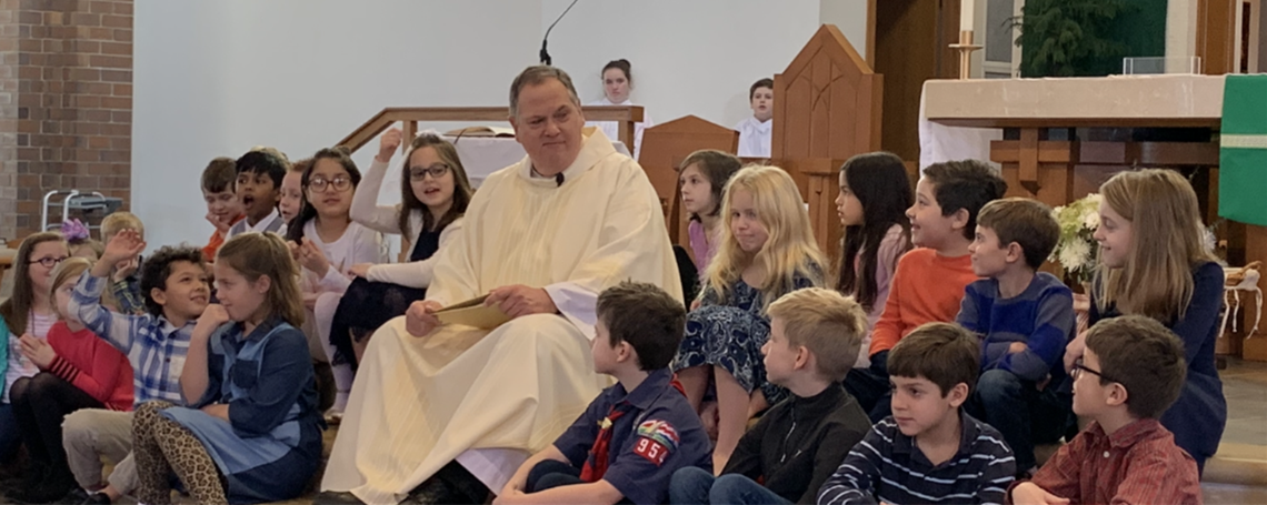 First Communion Enrollment Mass