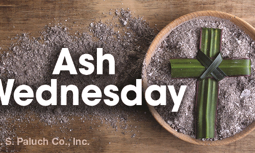 Lent Begins Wednesday, February 17